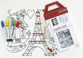 Mark Mat Art Activity